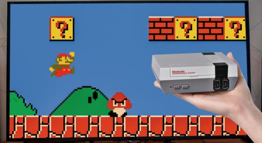 La consola NES vuelve: Nintendo la relanza en versión mini