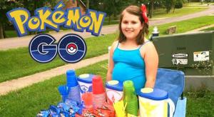 Pequeña Emprendedora Tiene 10 años y gana dinero gracias a Pokémon GO 1