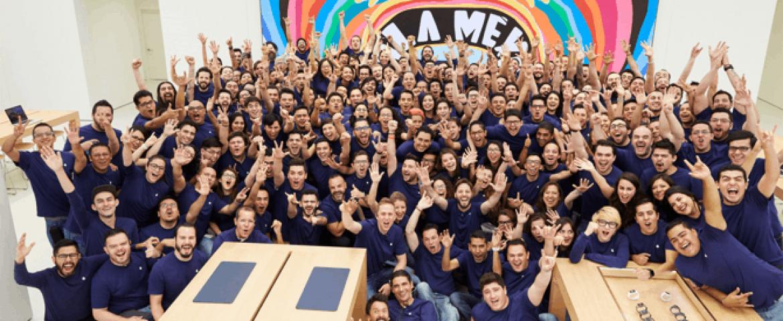 Apple Inaugura Exitosamente su Primera Tienda en México