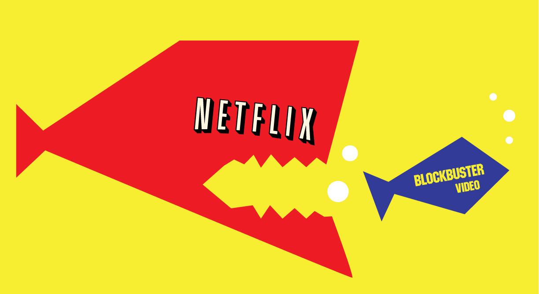 Gracias a Blockbuster nació Netflix