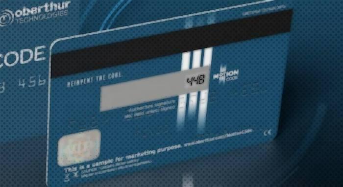 MotionCode, Tarjeta de Crédito y Débito que Cambia tu Código de Seguridad Automáticamente