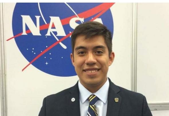 Estudiante-investigador mexicano aceptado en la NASA